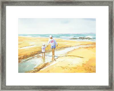 Mary And Sophia Framed Print by Ray Cole