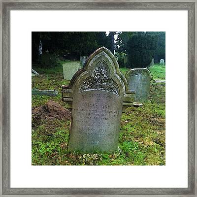 Mary Ann Framed Print