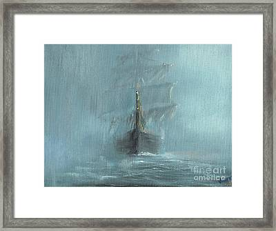 Mary Celeste Framed Print