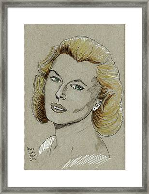 Mary Costa Framed Print
