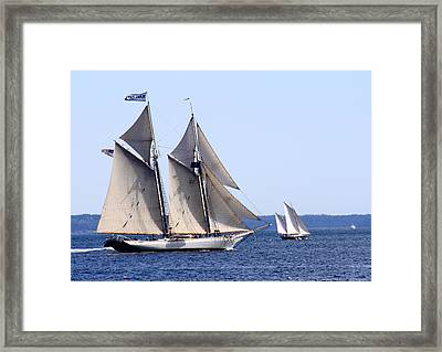 Mary Day Framed Print