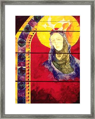 Mary Framed Print by Erika Brown