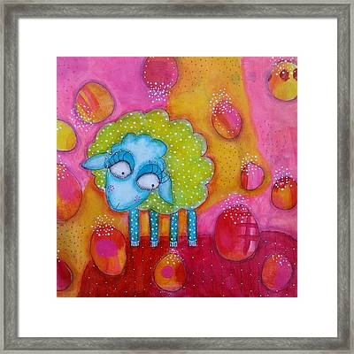 Mary Had A Little Lamb Framed Print