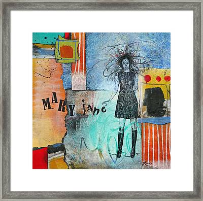 Mary Jane Framed Print by Laura  Lein-Svencner