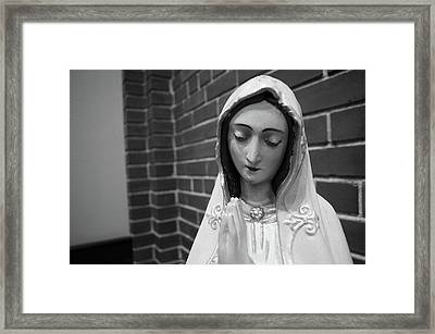 Framed Print featuring the photograph Mary by Jeanette O'Toole