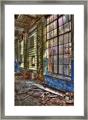 Window Walls Mary Leila Cotton Mill Framed Print