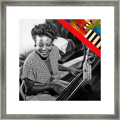 Mary Lou Williams Collection Framed Print by Marvin Blaine
