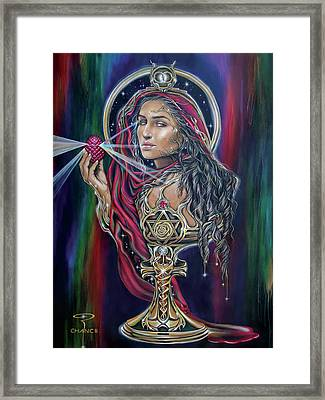 Mary Magdalen - The Holy Grail Framed Print