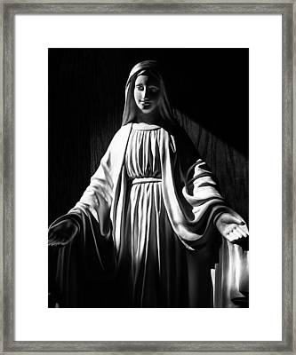 Framed Print featuring the photograph Mary by Monte Stevens