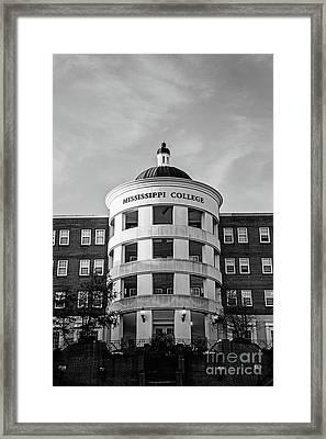 Mary Nelson Hall - Mississippi College Framed Print by Scott Pellegrin