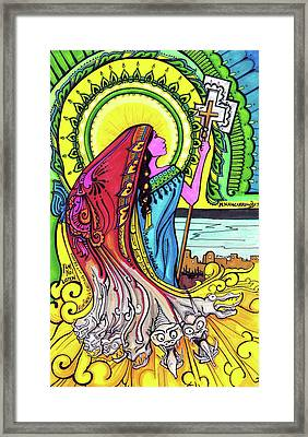 Mary Of Madgala Framed Print by Maggie Nancarrow