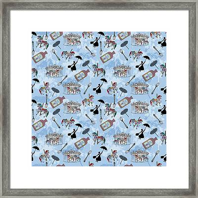 Mary Poppins Framed Print by Beth Travers