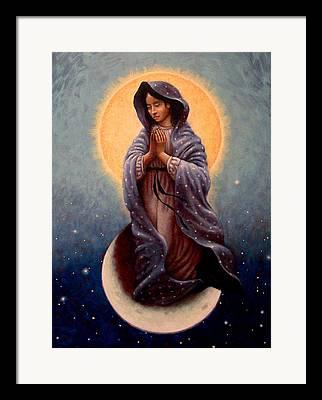 Queen Of Heaven Framed Prints