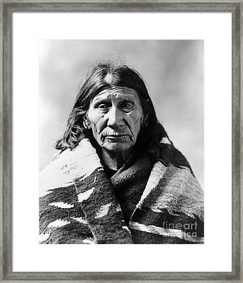 Mary Red Cloud, C1900 Framed Print by Granger