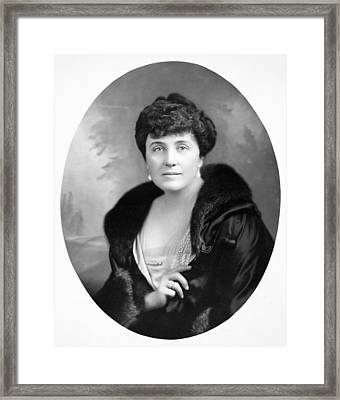 Mary Roberts Rinehart Framed Print by Granger