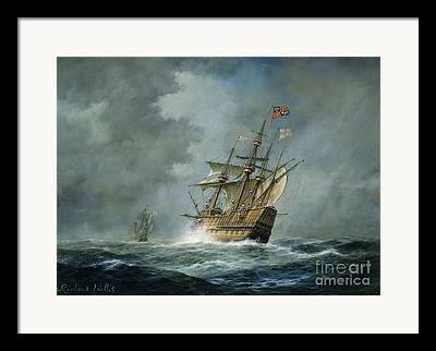At Sea Framed Prints