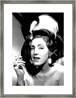Mary Santpere Framed Print