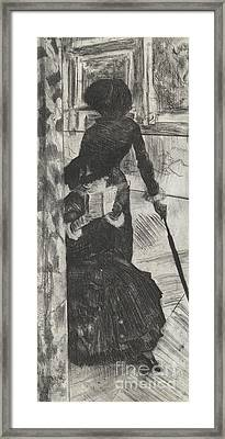 Mary Stevenson Cassatt Framed Print