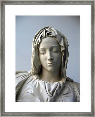 Mary Framed Print by Suhas Tavkar