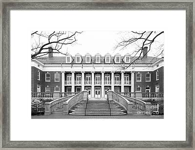 University Of Mary Washington Lee Hall Framed Print