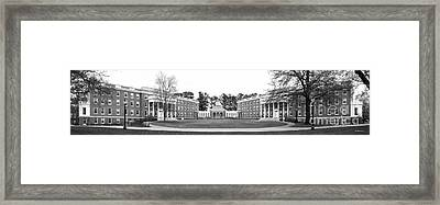 University Of Mary Washington Residence Halls Framed Print