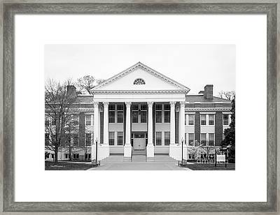 University Of Mary Washington Monroe Hall Framed Print