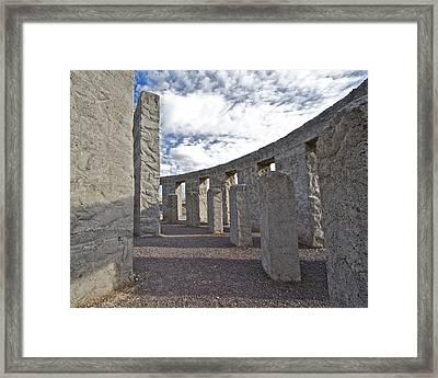 Maryhill Stonehenge 5 Framed Print