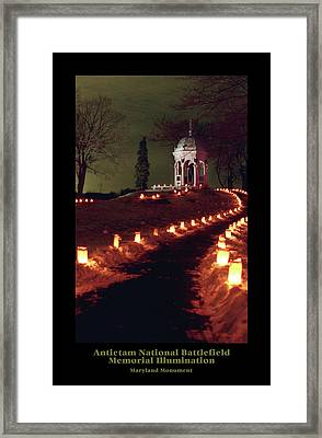 Maryland Monument 89 Framed Print by Judi Quelland