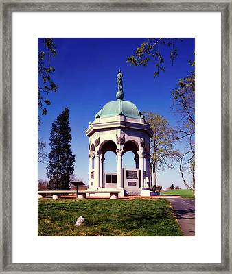 Maryland Monument - Antietam Framed Print