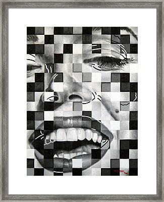 Marylin II Framed Print