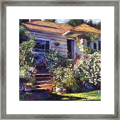 Mary's Cottage Framed Print by David Lloyd Glover