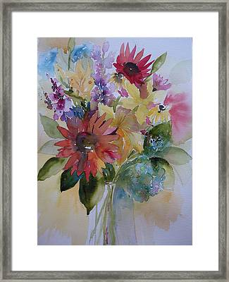 Framed Print featuring the painting Marys Obsession by Sandra Strohschein