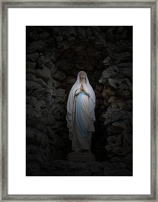 Marys Prayer II Framed Print