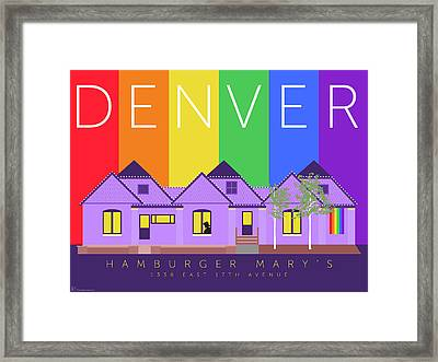 Mary's Rainbow Framed Print