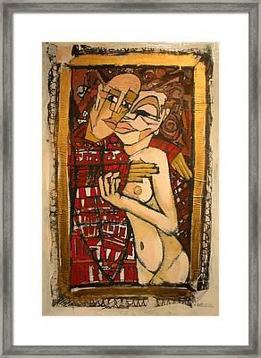 Marzipan Framed Print by Samuel Miller
