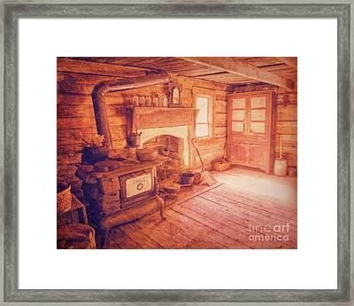 Ma's Kitchen Framed Print