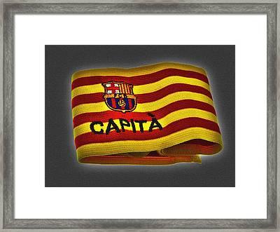 Framed Print featuring the photograph Mas Que Un Capitan ... by Juergen Weiss