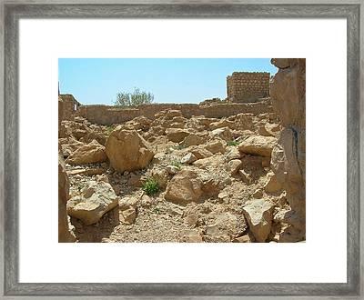 Masada I Framed Print by Susan Heller