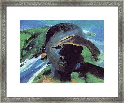 Masai Framed Print