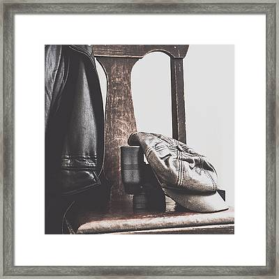 Masculine Still Framed Print by Beverly Cazzell