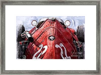 Maserati 250f Alien Framed Print by Yuriy  Shevchuk