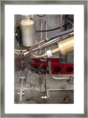 Maserati 8cm Footwell Framed Print by Robert Phelan