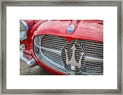 Maserati Framed Print by Claudia M Photography