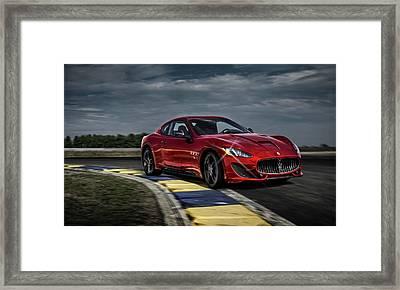 Maserati Gran Turismo G T Sport Framed Print by Movie Poster Prints