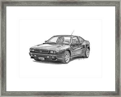 Maserati Shamal Framed Print by Gabor Vida