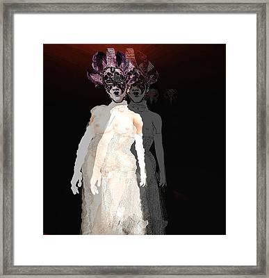 Mask-02 Framed Print