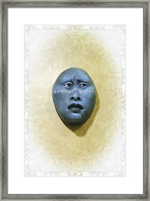 Mask 1 Framed Print by Don Lovett