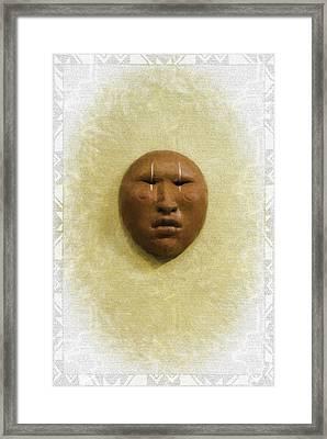 Mask 4 Framed Print by Don Lovett