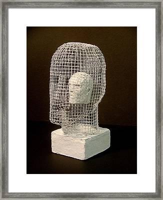 Mask Framed Print by Gary Kaemmer