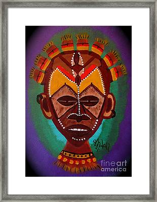 Mask Iv Framed Print